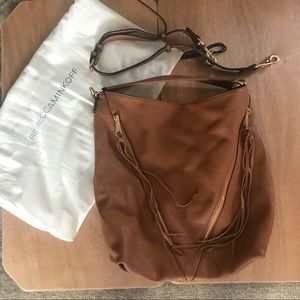 Rebecca Minkoff Convertible Leather Hobo Bag